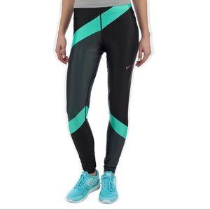 Nike DriFit Engineered Color Block Running Legging